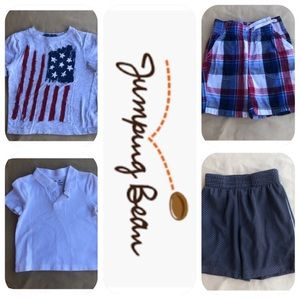 Jumping Bean 2 T-Shirts & 2 Shorts 3T